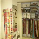 Les collections de tissus, voilages et tringlerie
