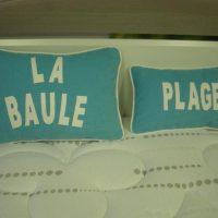 Coussins La Baule - Plage